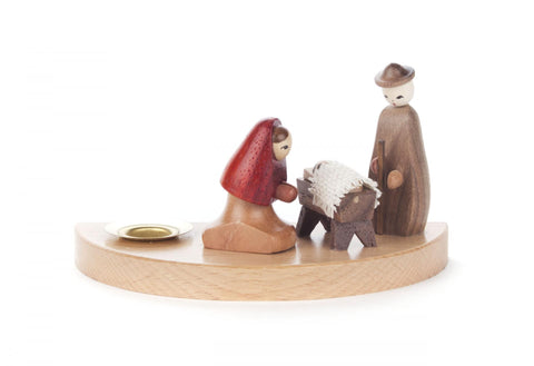 200/207G - Candle Holder with Nativity Scene (14mm)