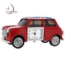 Mini Cooper Miniature Clock