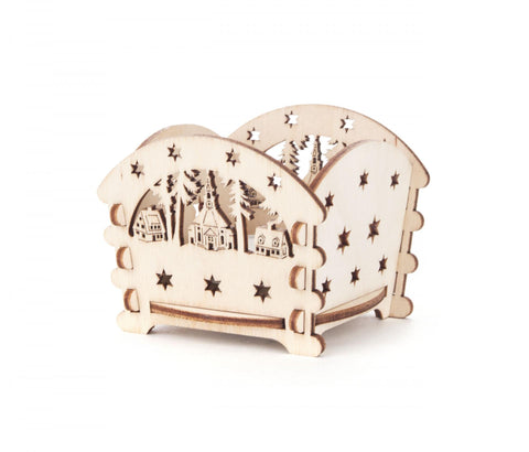201/117 - Tealight Holder with Seiffen Church