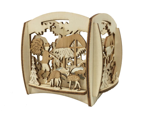201/284/5 - Wildlife Feeding Tealight Holder