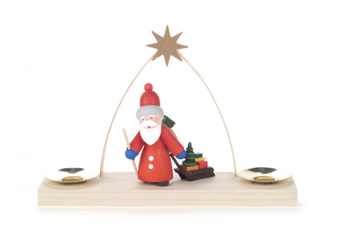 225/023 - Candle Holder with Santa (14mm)