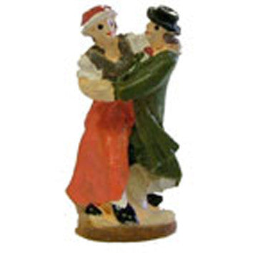"1 1/2"" Poly Resin Dancing Couple"