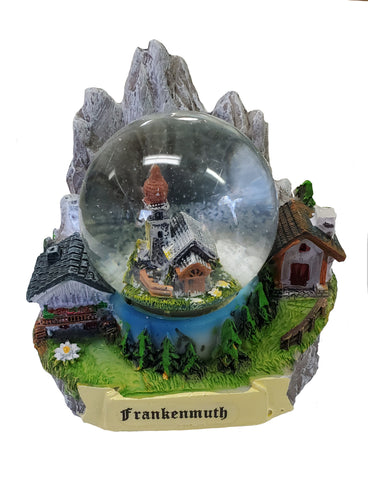 Snow Globe w/Frankenmuth Personalization