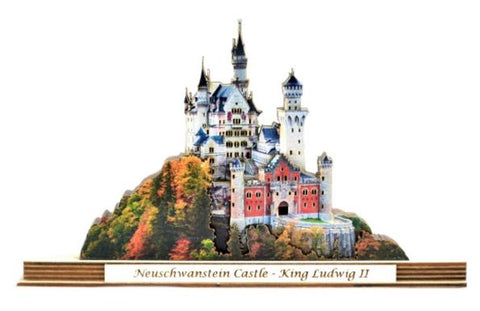 Neuschwanstein Ginger Stack Monument