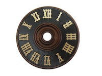 Wooden Dial & Numerals 3 1/8""