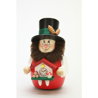 Wobble Dwarf - Black Forest Fellow with Clock