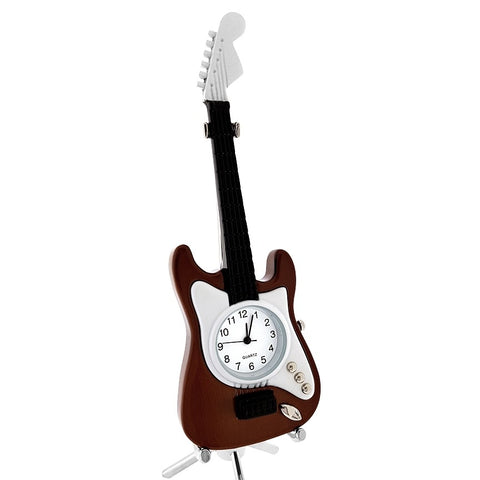 Electric Guitar Miniature Clock