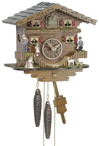 KU1508 - 1 Day Chalet Cuckoo Clock with Heidi