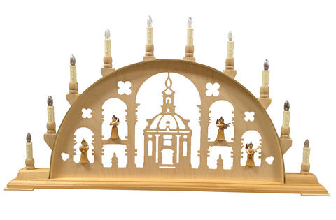 27113 Angel Choir Lighted Candle Arch