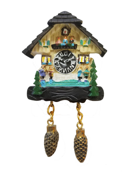 German Magnet With Dancers Frankenmuth Clock Company