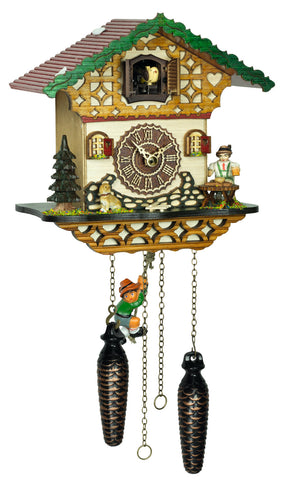 KU4264QMS - Quartz Musical Cuckoo with Beer Drinker