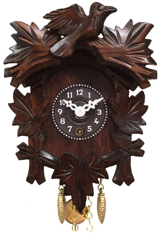 Novelty 5 Leaf 1 Bird Key-Wind