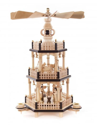 085/202/1 - Pyramid - 3 Tier Nativity Scene