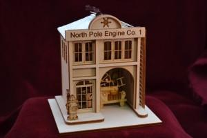 North Pole Engine Company #1 Firehouse