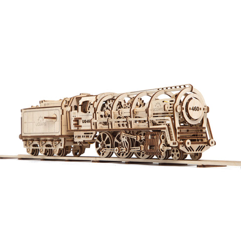 UGears Mechanical Locomotive