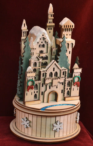 The Snow Queen's Castle Music Box