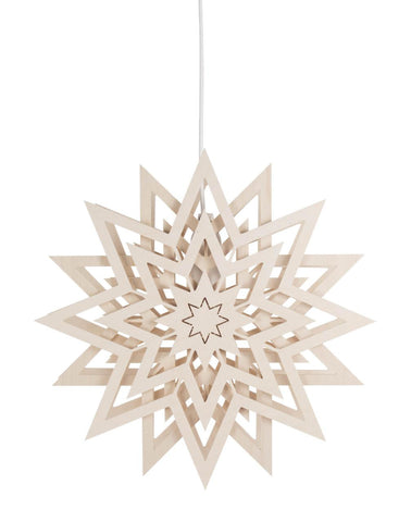 Ornament - Electric Lit Star