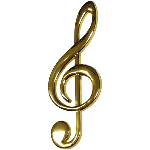 Gold Clef Note Magnet