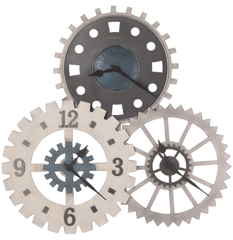 625-725 - Cogwheel Gallery Wall Clock