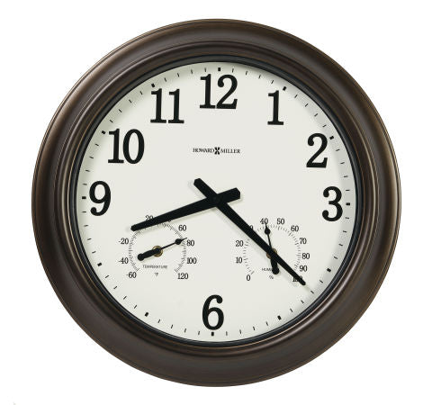 Bay Shore Outdoor Wall Clock