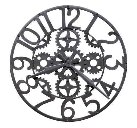 Iron Works Gallery Wall Clock