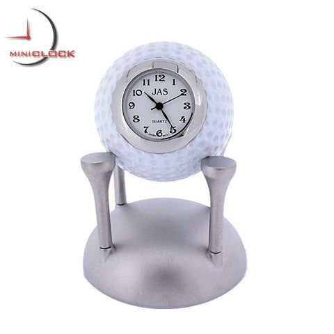 Golf Ball Miniature Clock