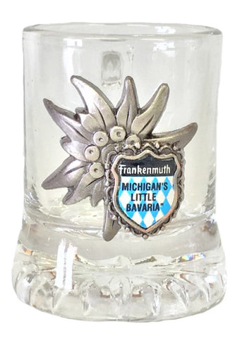 Stein Shot Glass w/ Frankenmuth Logo