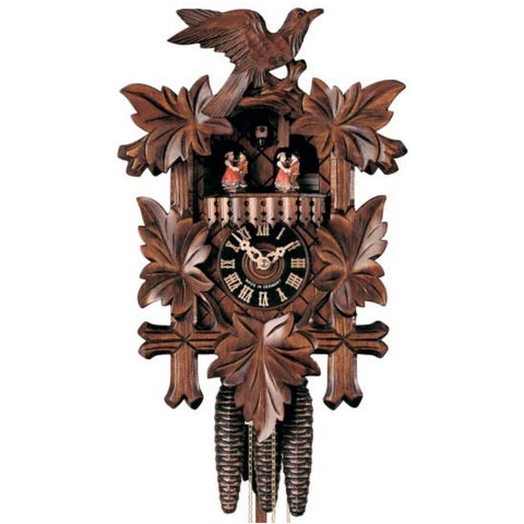 KU1003M - 1 Day Musical Five Leaf Cuckoo Clock