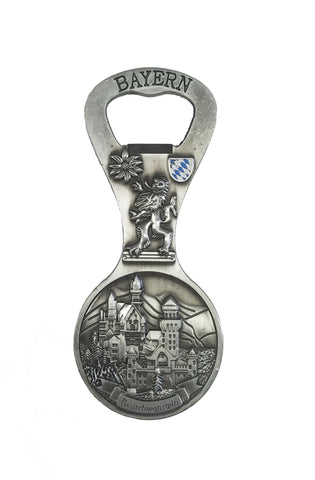 Neuschwanstein Bottle Opener Magnet