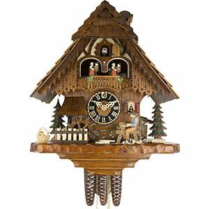 KU6266M - 1 Day Musical Shingler Cuckoo Clock