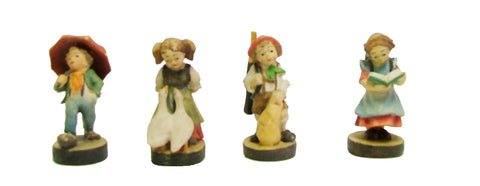 Wooden Dancers Set 1 5/8""