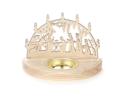 Tealight Holder - Nativity Scene