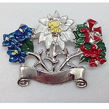 Alpine Flowers Pin