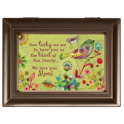 "Carson Music Box ""We Love Mom"""