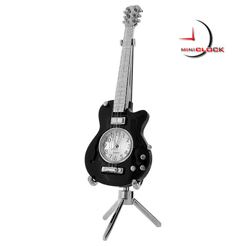 Electric Guitar Mini Clock