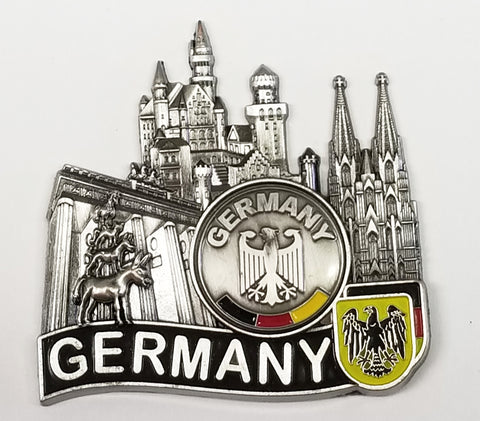 Metal Germany Magnet