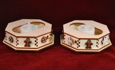 GCM101S- Snowflake Tea Light Music Box
