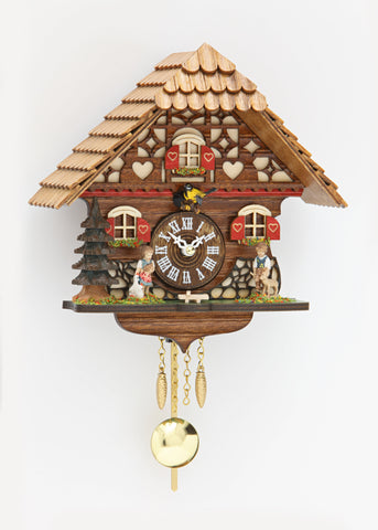 Novelty Cuckoo with Boy and Girl