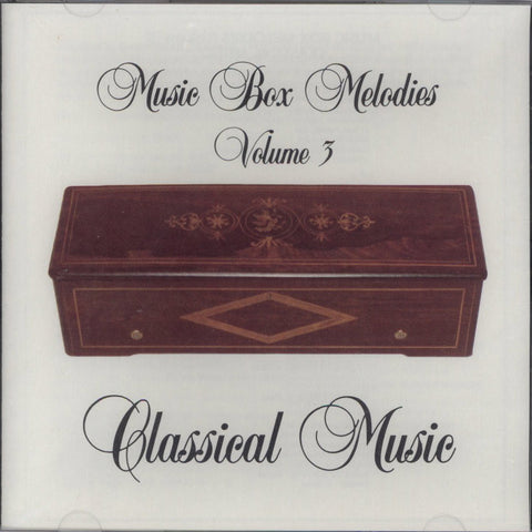 Music Box Melodies CD Volume 3