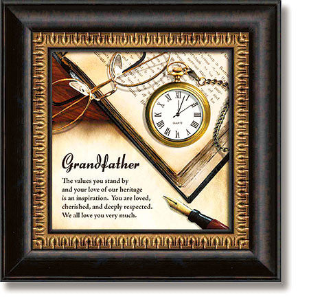 Grandfather Table Top Clock