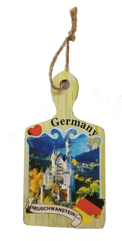 German Magnet with Neuschwantstein