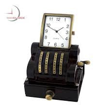 Cash Register Miniature Clock