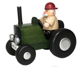 Smoker - Farmer on Green Tractor
