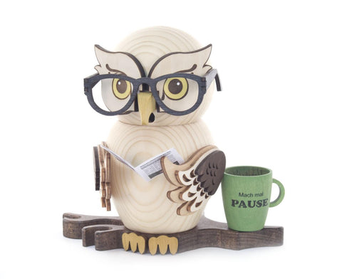 Smoker - Owl with Glasses