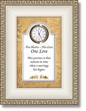 One Love Table Top Clock