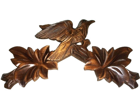 TCB-5 - Bird Top Carving 14""