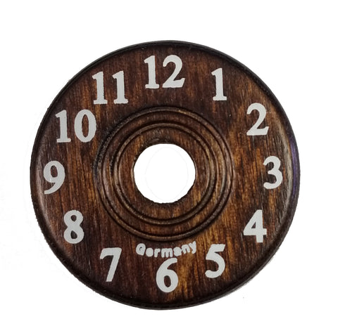 Wooden Dial 1 5/8""