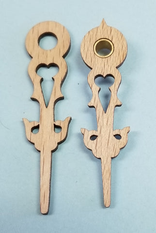 Regula Wooden Hands 2""