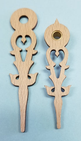Regula Wooden Hands 2 1/2""