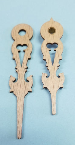 Regula Wooden Hands 2 3/4""